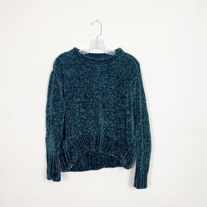 Romeo + Juliet Couture | chenille knit sweater M